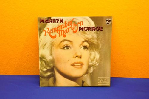 Remember Marilyn Monroe Vinyl with photo book
