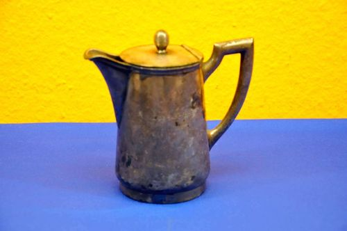 Portion pot from Leipzig Zoo Wellner hotel silver 1925