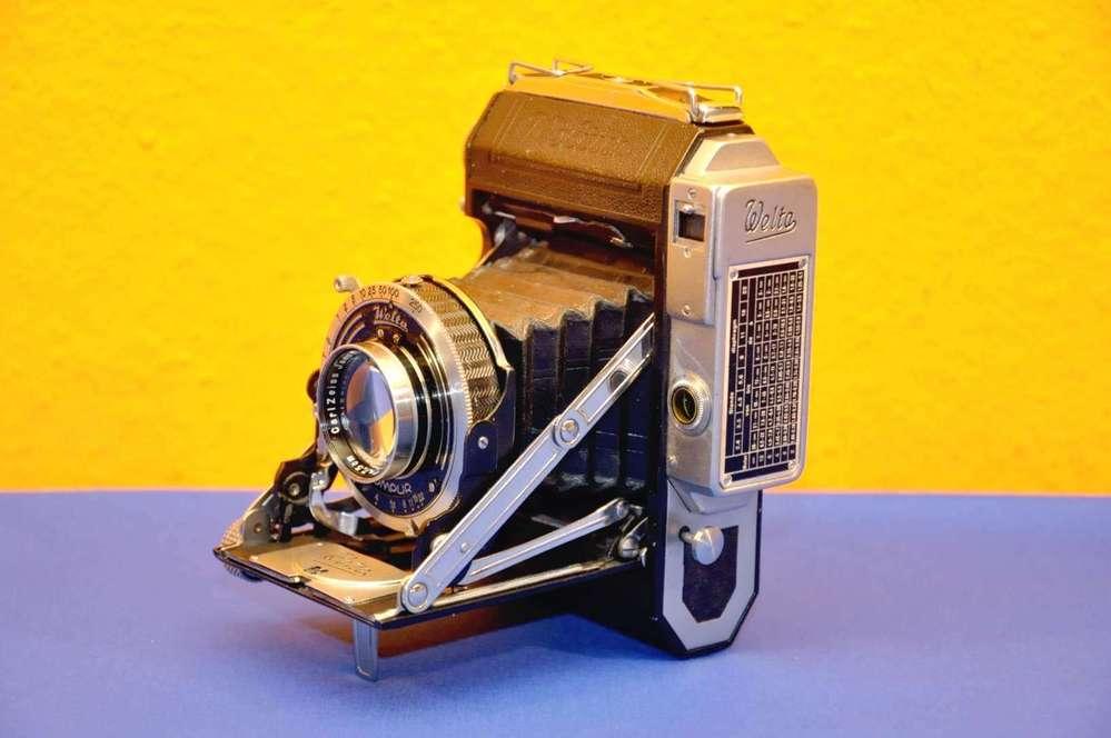 Zeiss Entfernungsmesser Nikon : Welta weltur mit carl zeiss tessar cm kusera