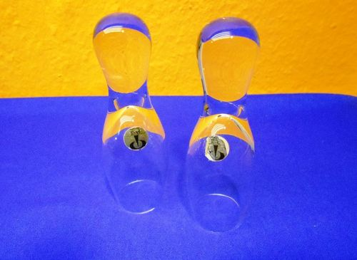 Peill Crystal 2 fun shot glasses Pin Brothers