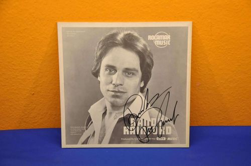 Signed LP Randy Rainford Autograph Schlager Vinyl
