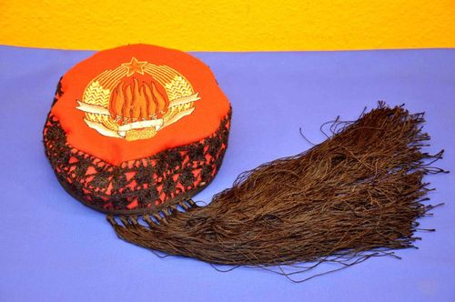 Commemorative hat with tassels 29.11.1943 of AVNOJ Tito