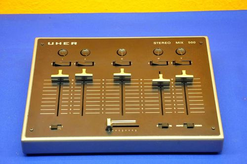 Uher stereo mix 500 type 124 without power supply