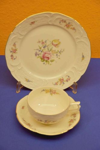 Rosenthal Sanssouci rose garland tea place setting