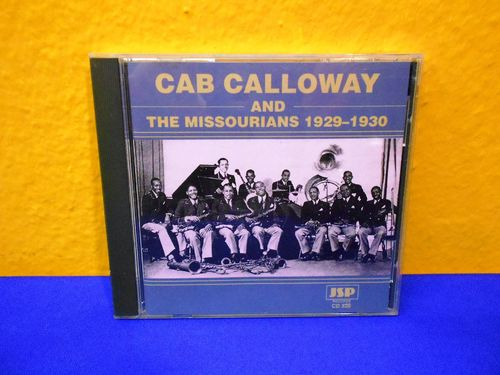 CAB CALLOWAY and The Missourians 1929-1930 CD