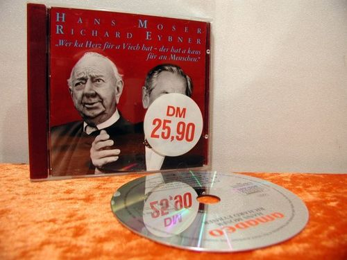 Hans Moser Richard Eybner Literature CD