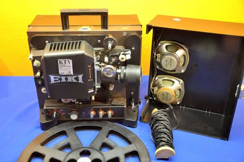 EIKI NT 16mm movie projector Eiki Super-16 50mm F1,2