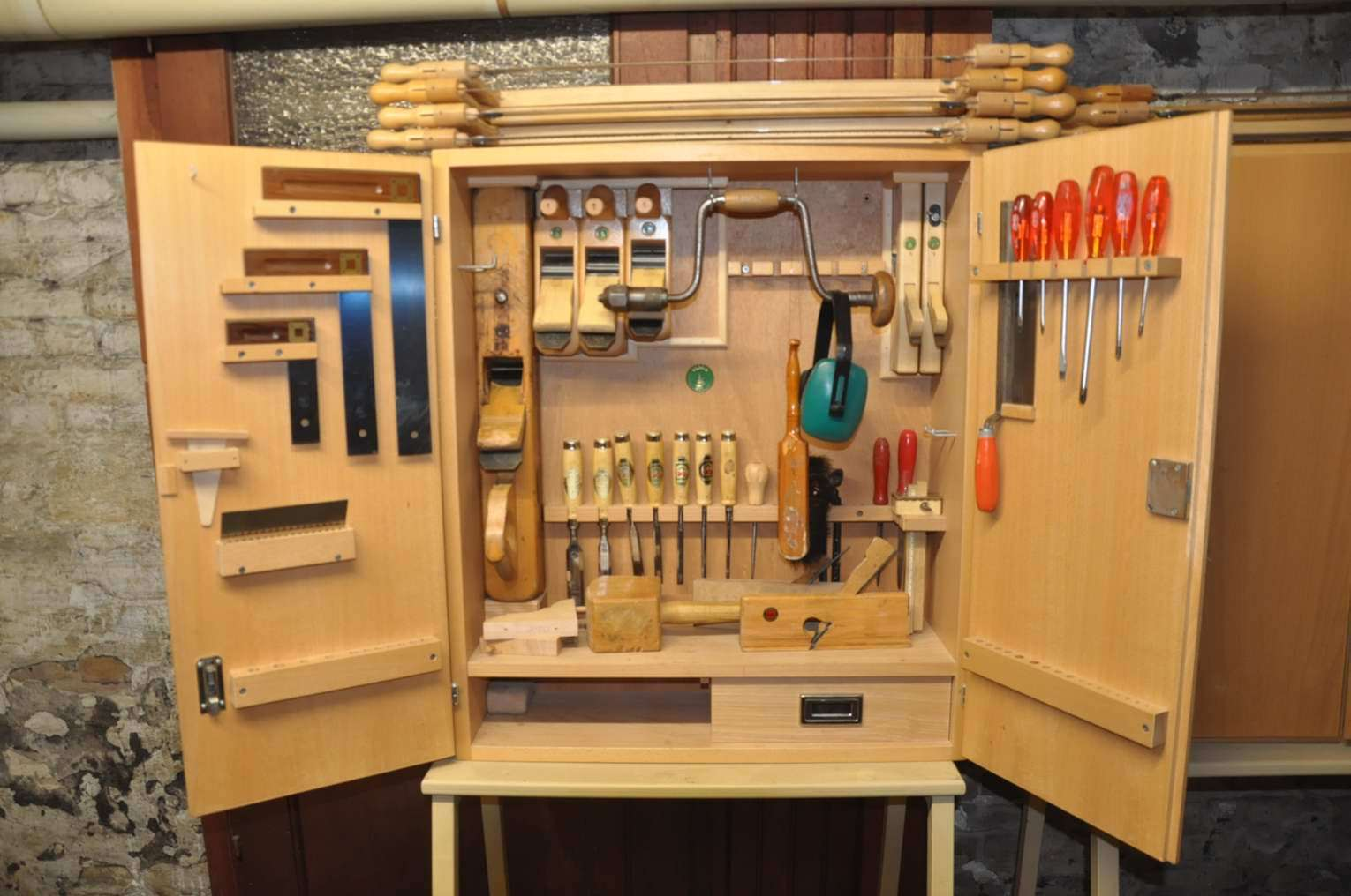 Tool Cabinet Ulmia Set Carpenter 39 Parts ...
