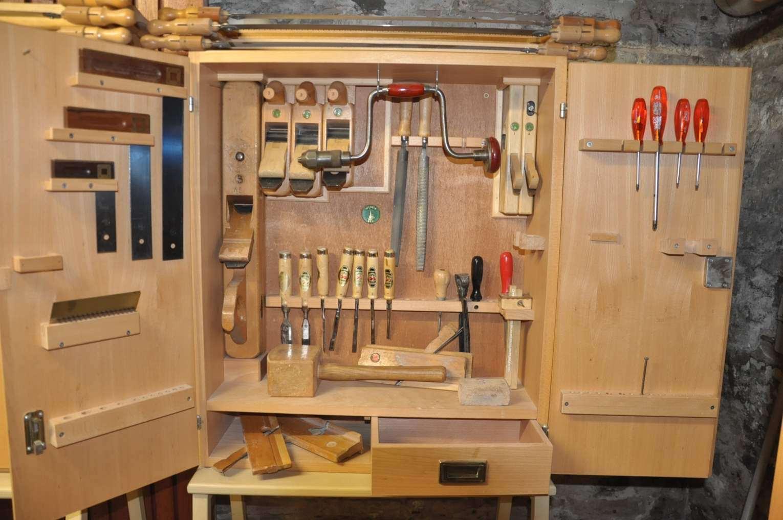 Werkzeugschrank Ulmia Set Tischler 35 Teile - bei KuSeRa kaufen