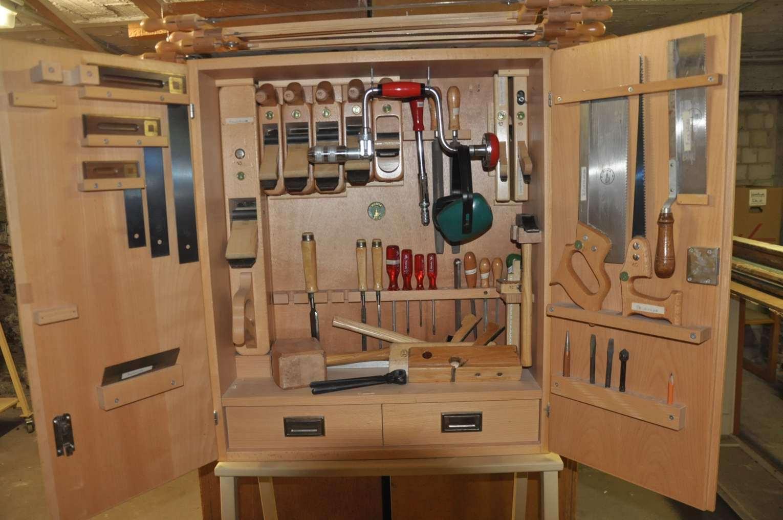 ... Tool Cabinet Ulmia Set Carpenter 51 Parts ...