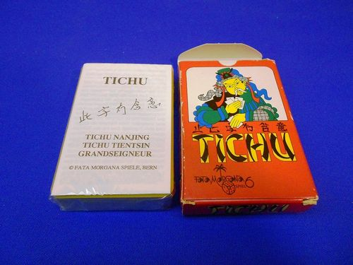 Fata Morgana game TICHU Playing Cards