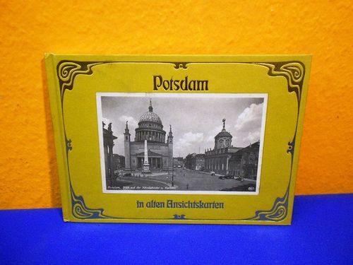 German book Potsdam in alten Ansichten