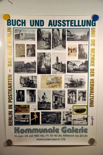 Book and exhibition poster 750 years Berlin