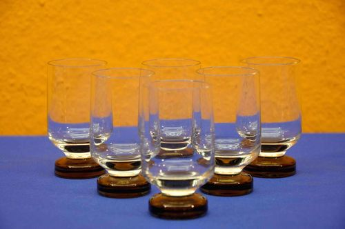 Rosenthal Variation 6 Shot glasses Smoke stem