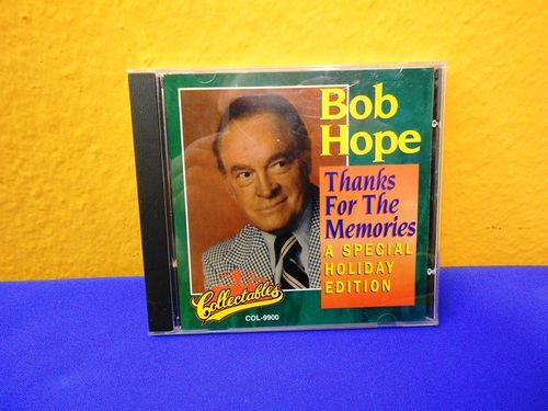 Bob Hope Thanks for the Memories Collectables CD