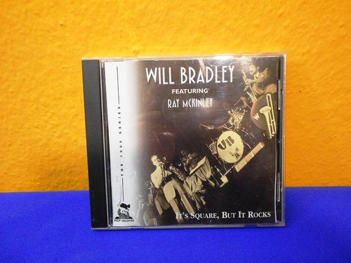 CD Will Bradley feat. Ray McKinley It's Square