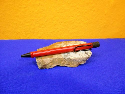 80s Vintage Lamy Safari Ballpoint pen in red