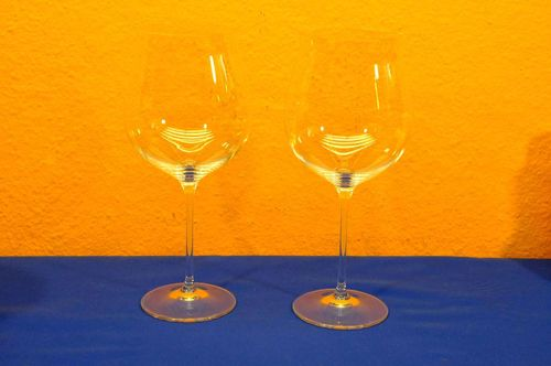 Crystal Nachtmann Vivendi 2 red wine glasses