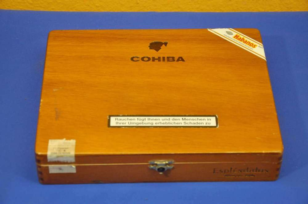 Cohiba Habanos Empty Wooden Cigar Box For Sale At Shop Kusera
