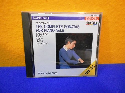Mozart The Complete Sonatas for Piano Vol. 5