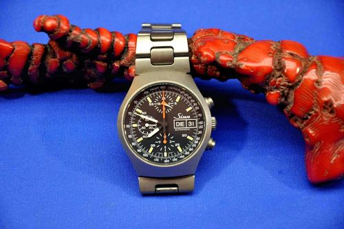 Wristwatch Sinn 157 Titan automatic chronograph