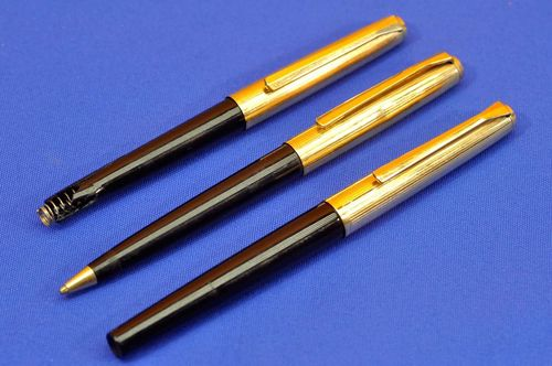 Pelikan 30 Rolled Gold fountain pen ballpen pencil