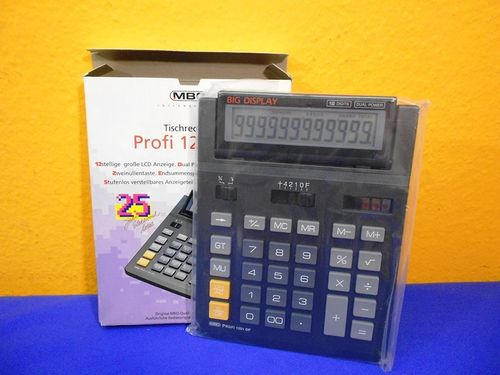 MBO Desk Top Calculator Profi 1201 DP NOS