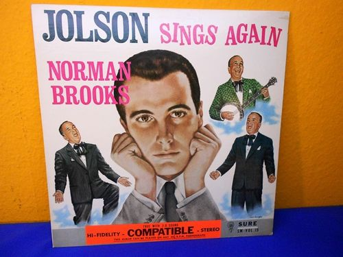 Norman Brooks Jolson sings again SURE SM Vol. 19 Vinyl