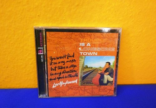 CD Lee Hazlewood Trouble is a Lonesome Town