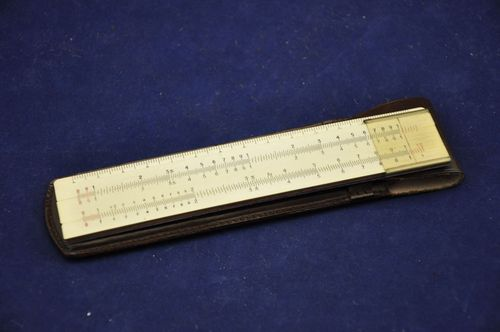 A. W. Faber Castell 63/91 Slide rule with case