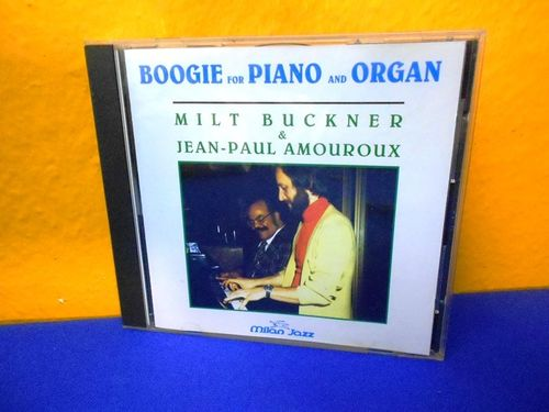 Milt Buckner J. P. Amouroux Boggie for Piano and Organ
