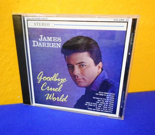 CD James Darren Volume 50 Goodbye Cruel World