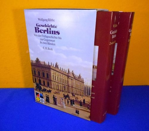 German books W. Ribbe Geschichte Berlins