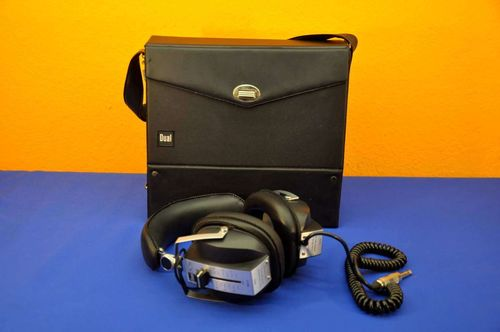 Dual DK710 stereo headphone 400 ohm with case