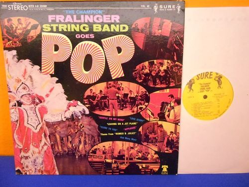 LP FRALINGER String Band goes Pop Vinyl SURE Vol 40
