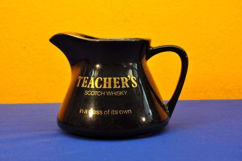 TEACHER'S Scotch Whisky Krug in Schwarz