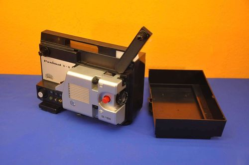 Braun Nürnberg Paximat S-8 12/100 super8 movie projector