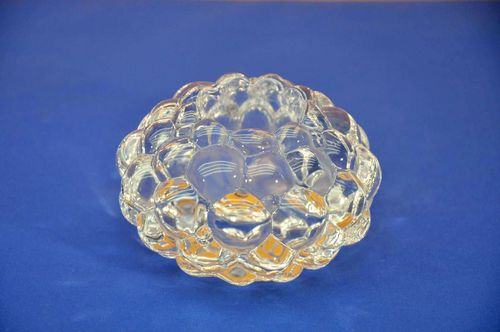 Orrefors Tea Light Holder bubbles glass