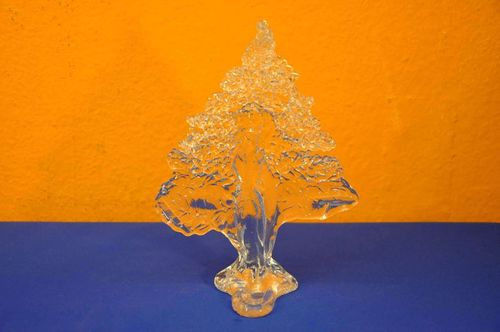 Peter Kaspar Glass Art Tree Candle Holder
