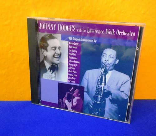 Johnny Hodges with Lawrence Welk Orchestra CD
