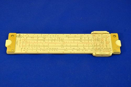 Slide rule Faber Castell 62/82 from 1966