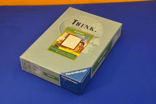 Think KRYPT 700 parts Ravensburger Puzzle NOS