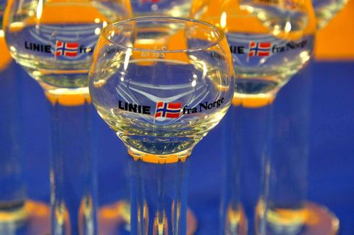 Linie fra Norge 6 shot glasses