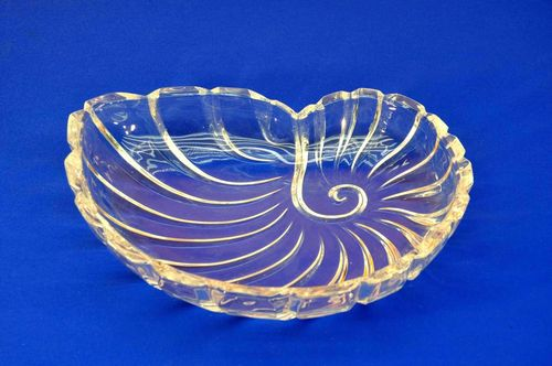 Crystal Bowl Nautilus bowl Ornamental crystal