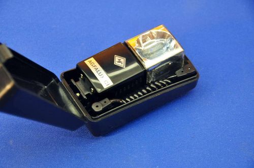Agfalux CI Flash Cube Holder Hot Shoe + Box + Cable
