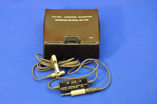 Olympus Electret Condenser Microphone ME5 with box
