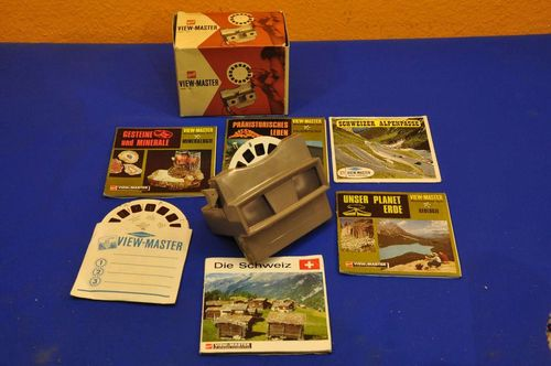 View-Master gaf mod.G with original packaging + pictures