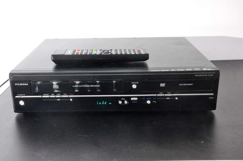 Funai Video DVD Cassette Recorder WD6D-M100