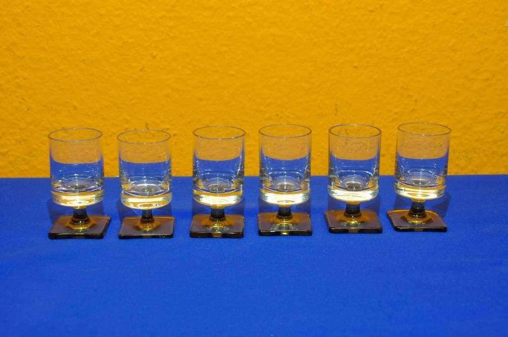 6x Schnapsglas Glas Schnaps Berlin
