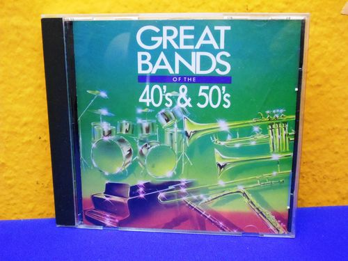 Great Bands of the 40's & 50's Sony CD